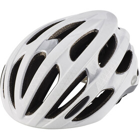 Bell Formula Kask rowerowy, white/silver/black